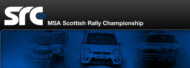 Scottish Rally Championship Banner